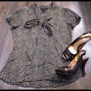 White House Black Market Dress Blouse